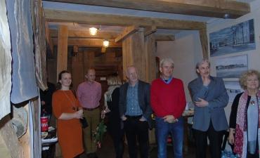 Otwarcie spotkania w starym mlynie, Barkweda, 28 XII 2017