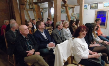 Zaproszeni goscie, stary mlyn, Barkweda, 28 XII 2017