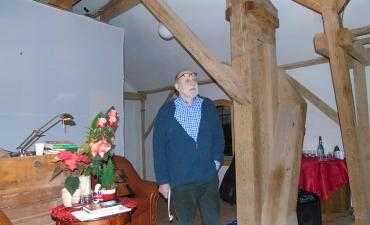 Janusz Polom czyta swoje wiersze z tomu Czas w Tepoztlanie
